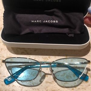 Marc Jacobs Blue Cat eye sunglasses
